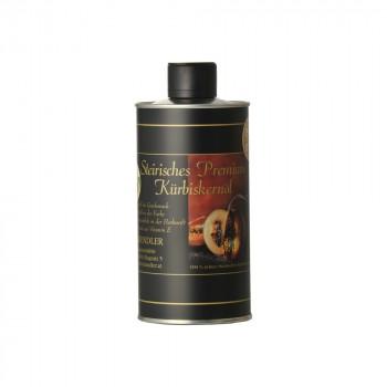 Steirisches Premium Kürbiskernöl ggA in der Dose / can
